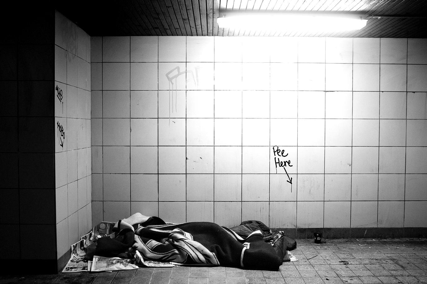 Udenlandske Hjemløse i København