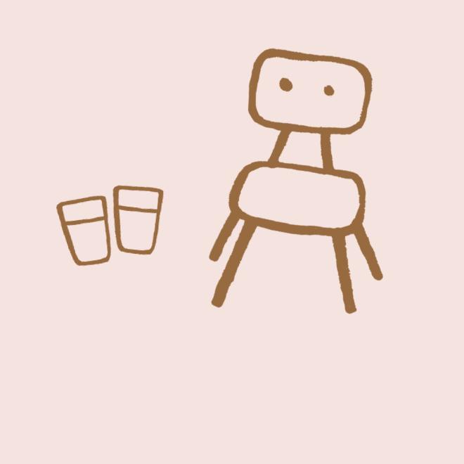 PU-tegning-stol-kaffe-2-660x660